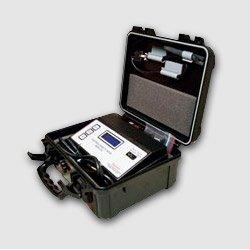 Emulsion Stability Tester, equipo de medicion de estabilidad eléctrica entrando a calibración