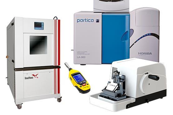 Equipos para mantenimiento provenientes de un Laboratorio de Investigación