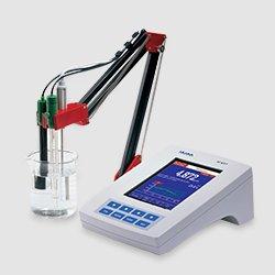 Sistema de medicion de PH durante la calibración