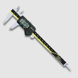 Instrumento de medición Vernier llevado a calibración